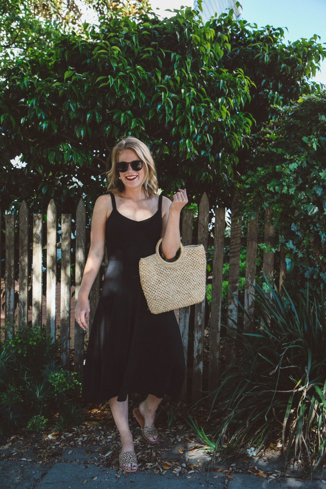 Finding My Summer Groove with a little black dress option from H&M.